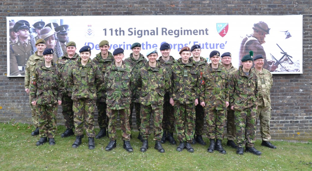 Cadet Advanced VHF Course Photo - Easter 2013
