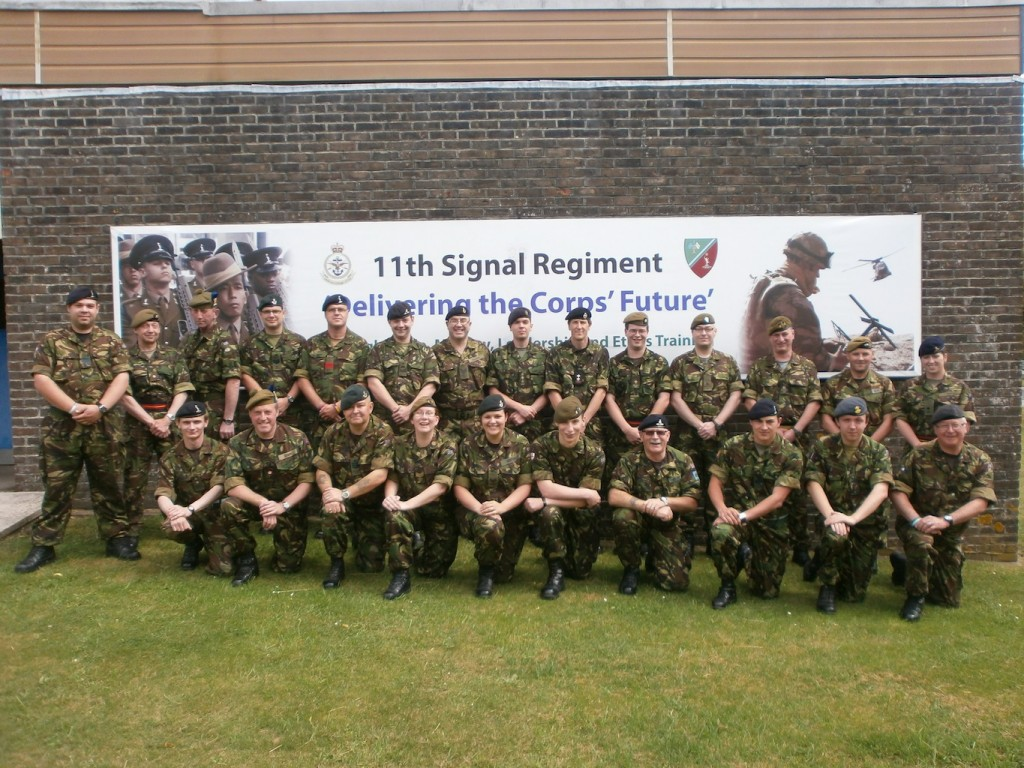 CFAV Basic Signals Instructor Course Photo - August 2012