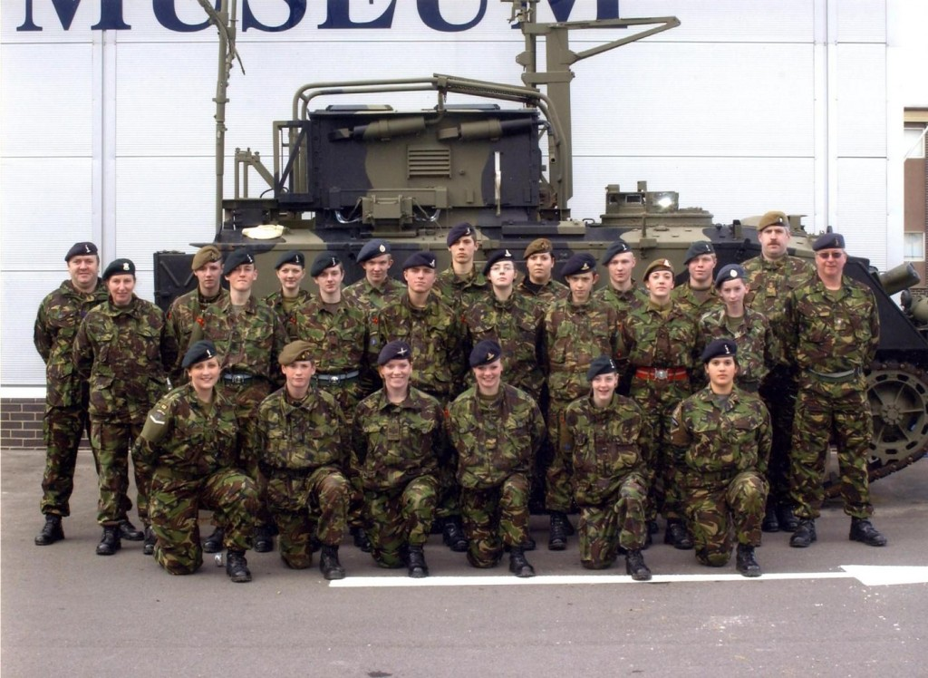 Cadet Advanced Signalling Course Photo - Easter 2005