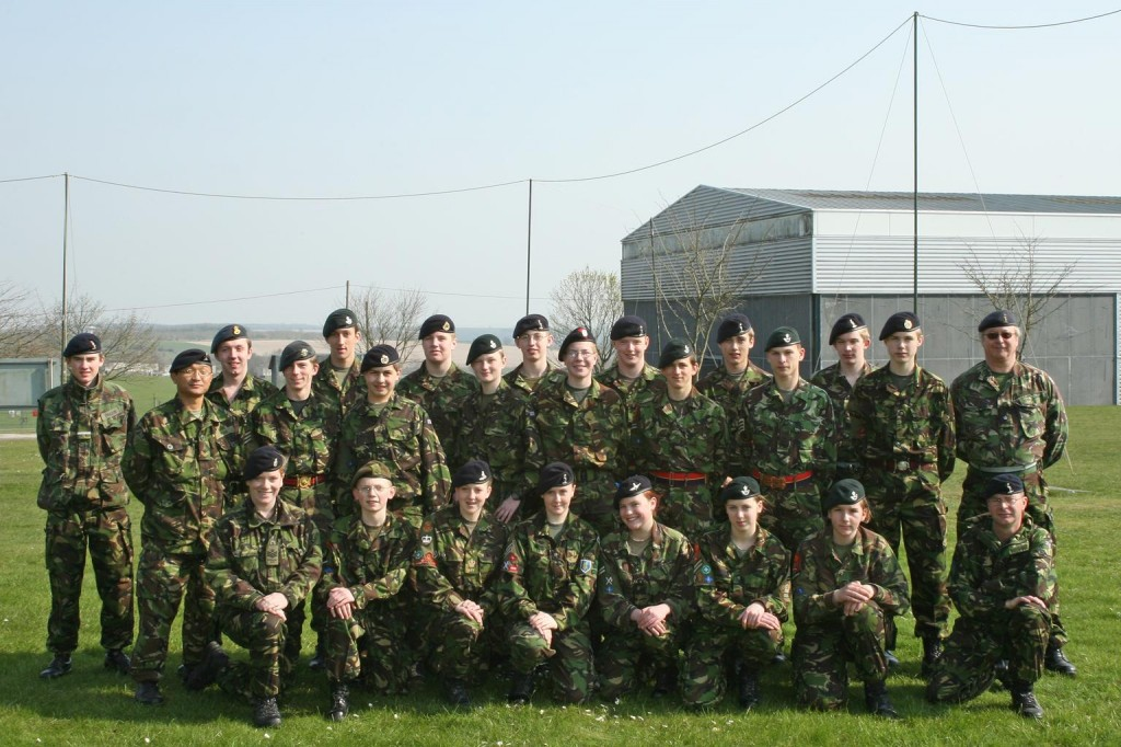 Cadet Advanced Signalling Course Photo - Easter 2007