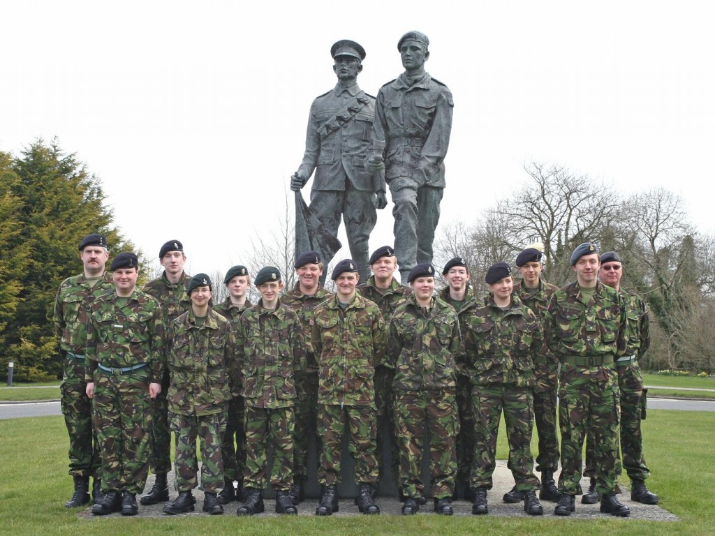 Cadet Advanced Signalling Course Photo - Easter 2008