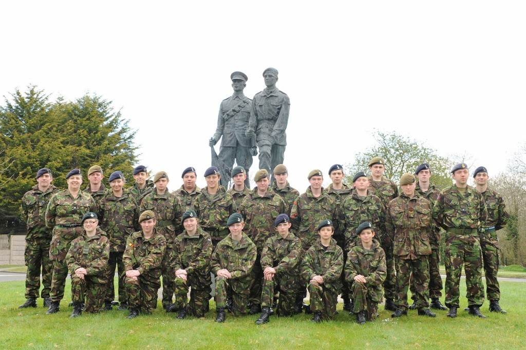 Cadet Advanced HF Course Photo - Easter 2012