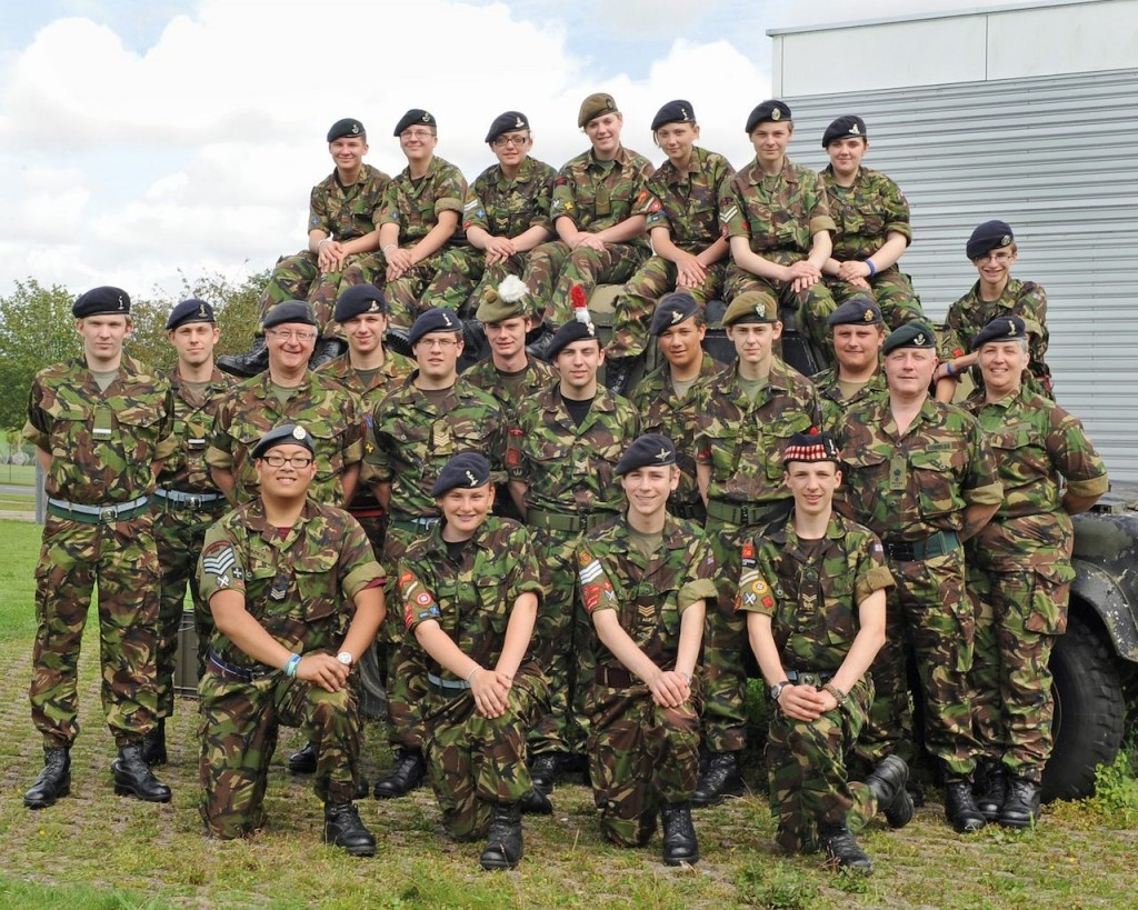 Cadet Advanced HF Course Photo - Summer 2012