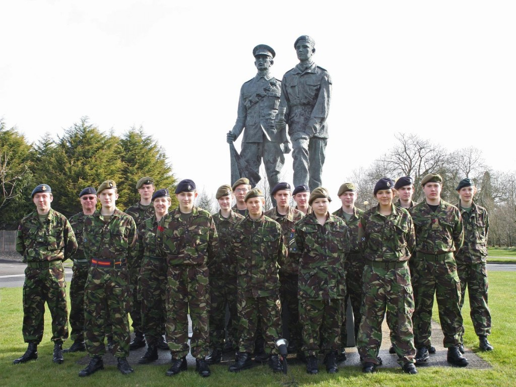 Cadet Post-Classification Course Photo - Easter 2008