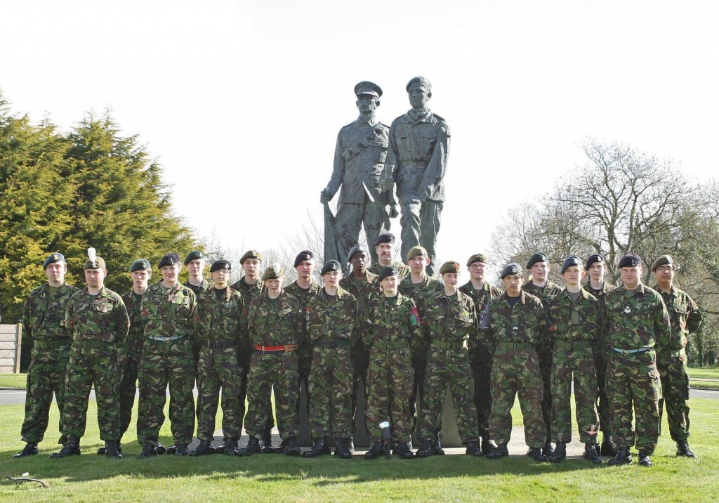 Cadet Post-Classification Course Photo - Easter 2009