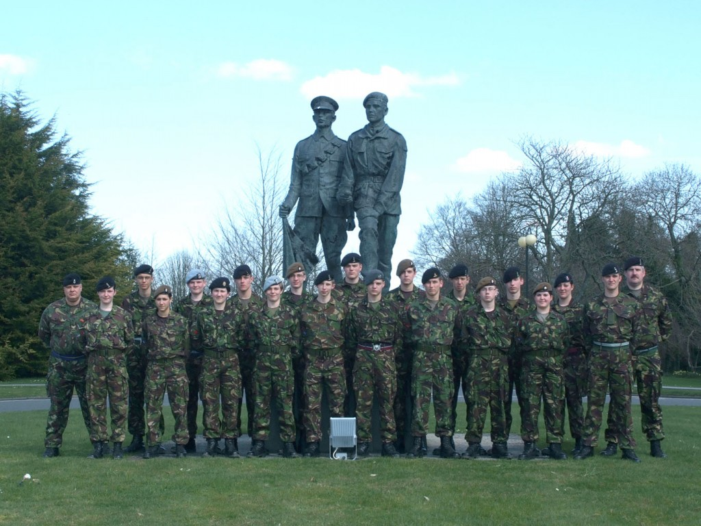 Cadet Post-Classification Course Photo - Easter 2010