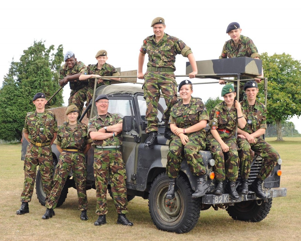 Cadet Post-Classification Course Photo - Summer 2010