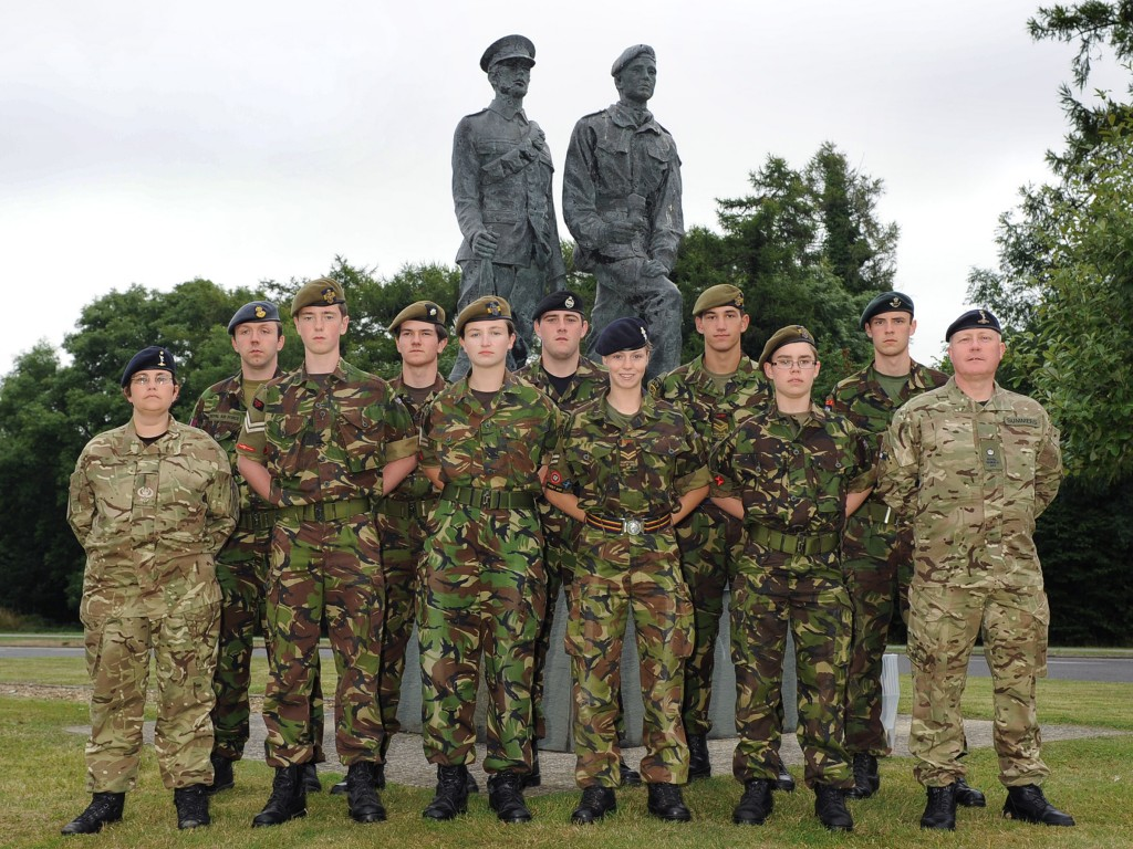 Cadet Advanced Communicator Course Photo - August 2013