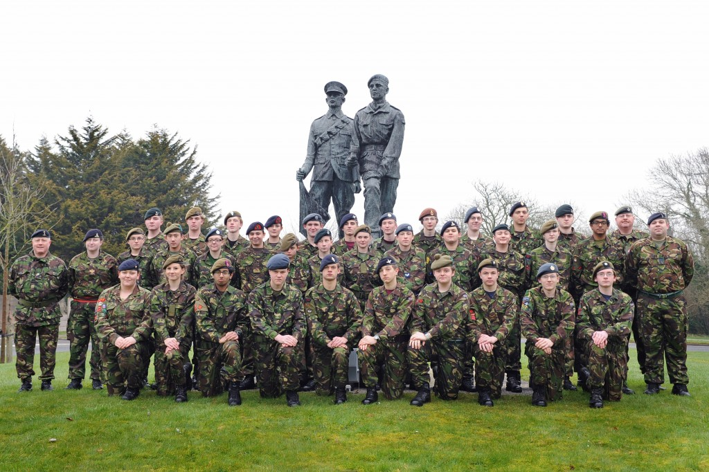 Cadet Advanced VHF (with Signaller Bolt-on) Course Photo - February 2013