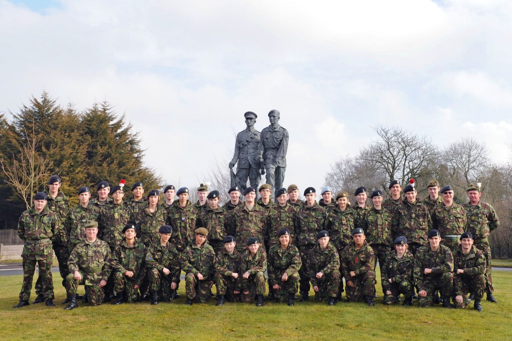 Cadet Post-Classification (with Signaller Bolt-on) Course Photo - February 2010
