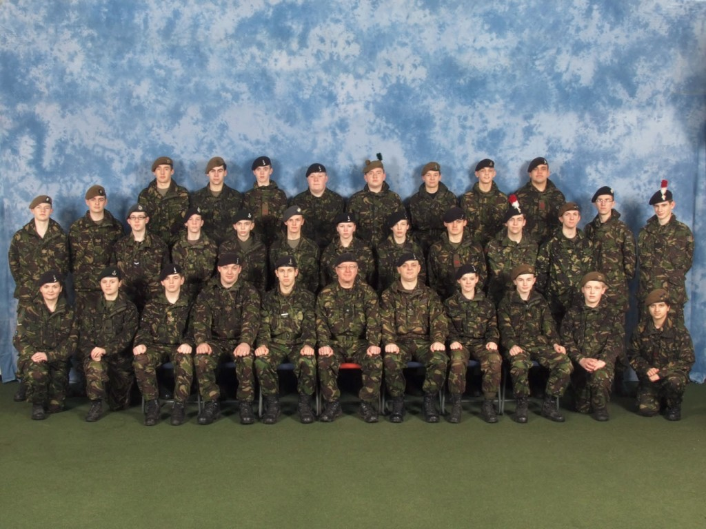 Cadet Advanced VHF (with Signaller Bolt-on) Course Photo - February 2011