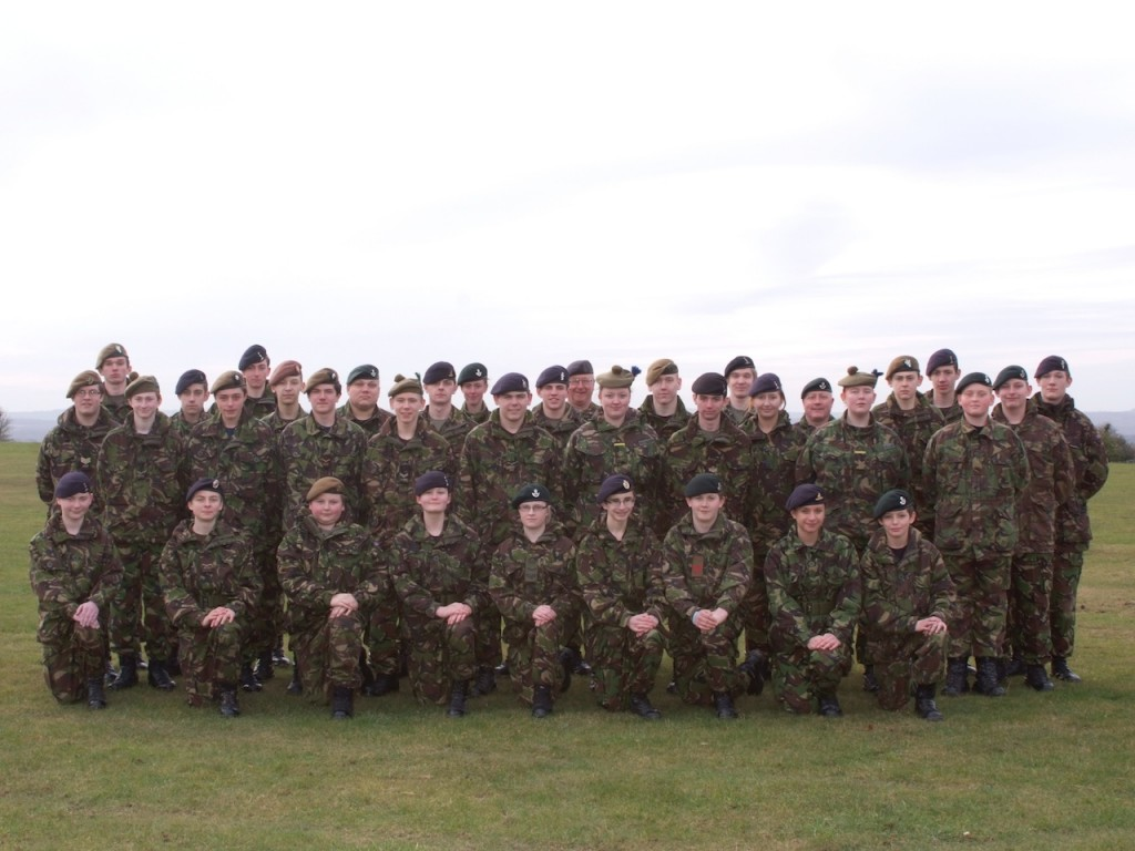 Cadet Advanced VHF (with Signaller Bolt-on) Course Photo - February 2012