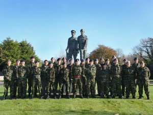 Cadet Post-Classification (with Signaller Bolt-on) Course Photo – October 2008