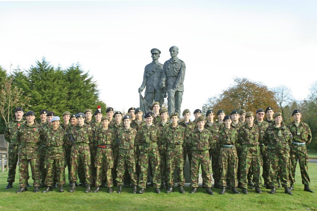 Cadet Advanced VHF (with Signaller Bolt-on) Course Photo – October 2009