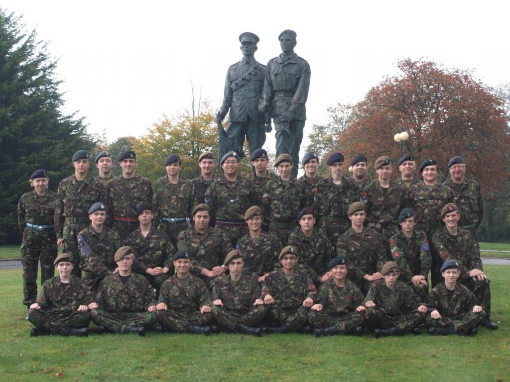 Cadet Advanced VHF (with Signaller Bolt-on) Course Photo – October 2011