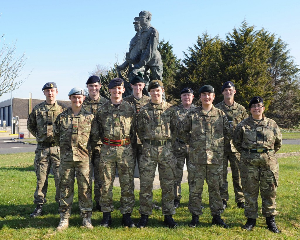 Cadet Advanced Communicator Course Photo - April 2014