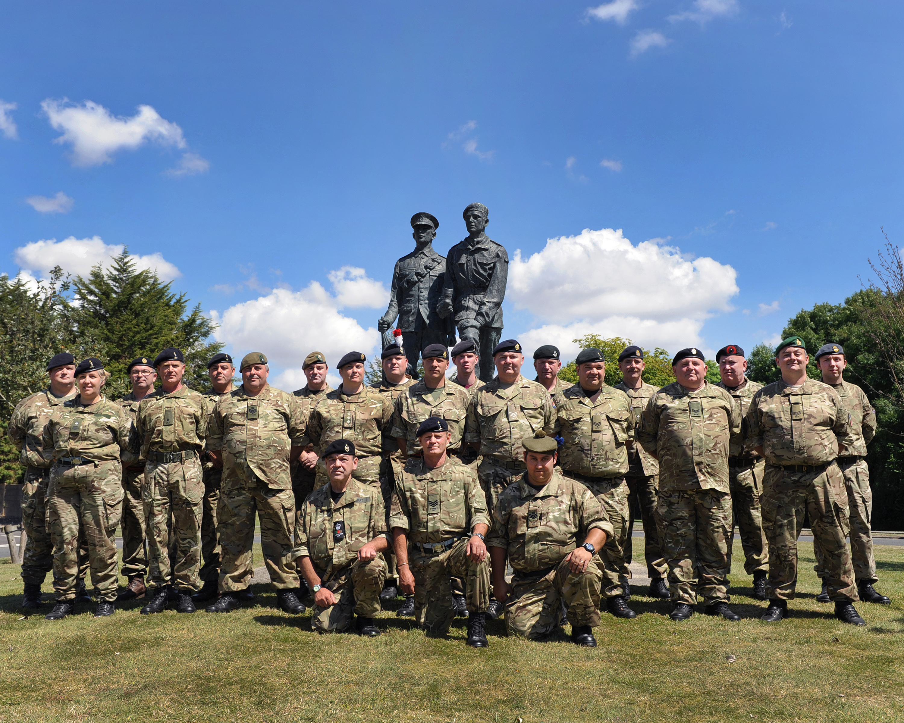 CFAV Intermediate Signals Instructor Course Photo - July 2014
