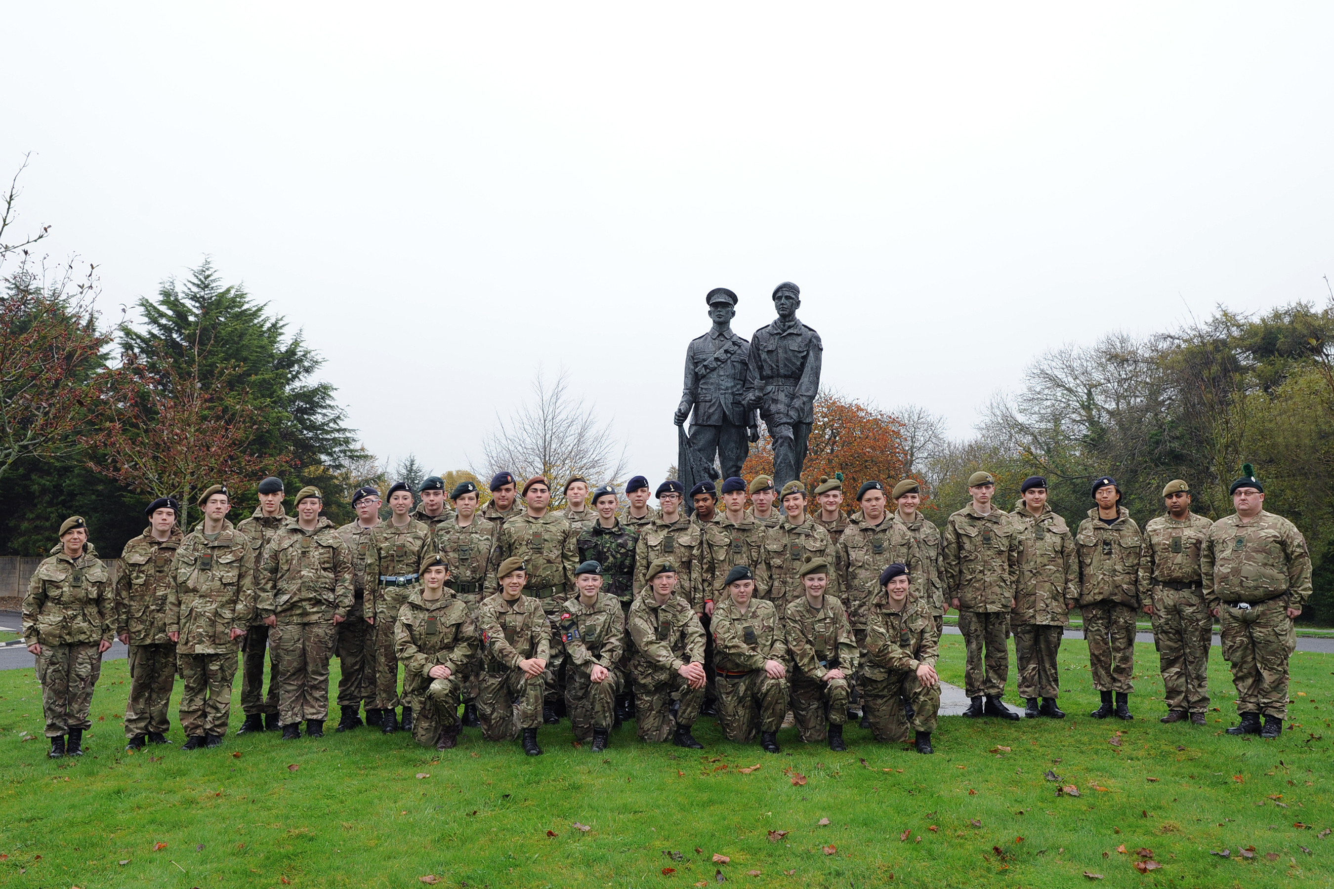 Cadet Signaller Course Photo - October 2014