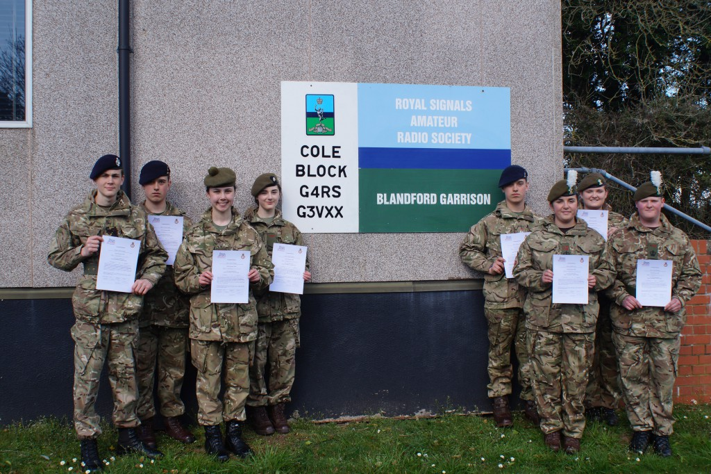 Cadet Advanced Communicator Course Photo - April 2015