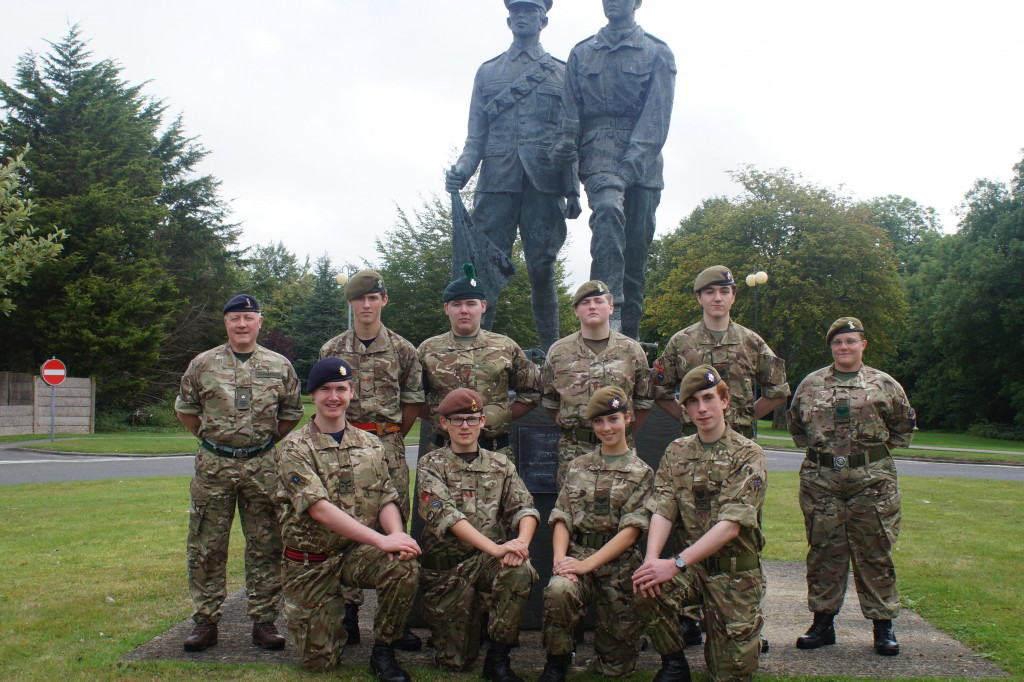 Cadet Signaller Course Photo - August 2015