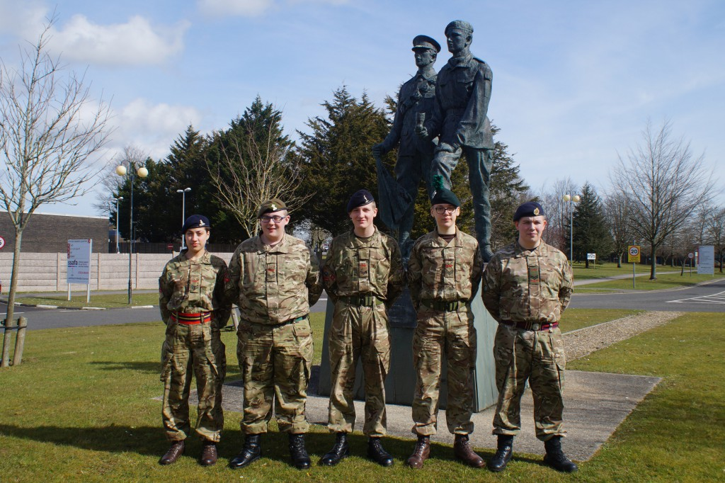 Cadet IS Communicator Course Photo - March 2016