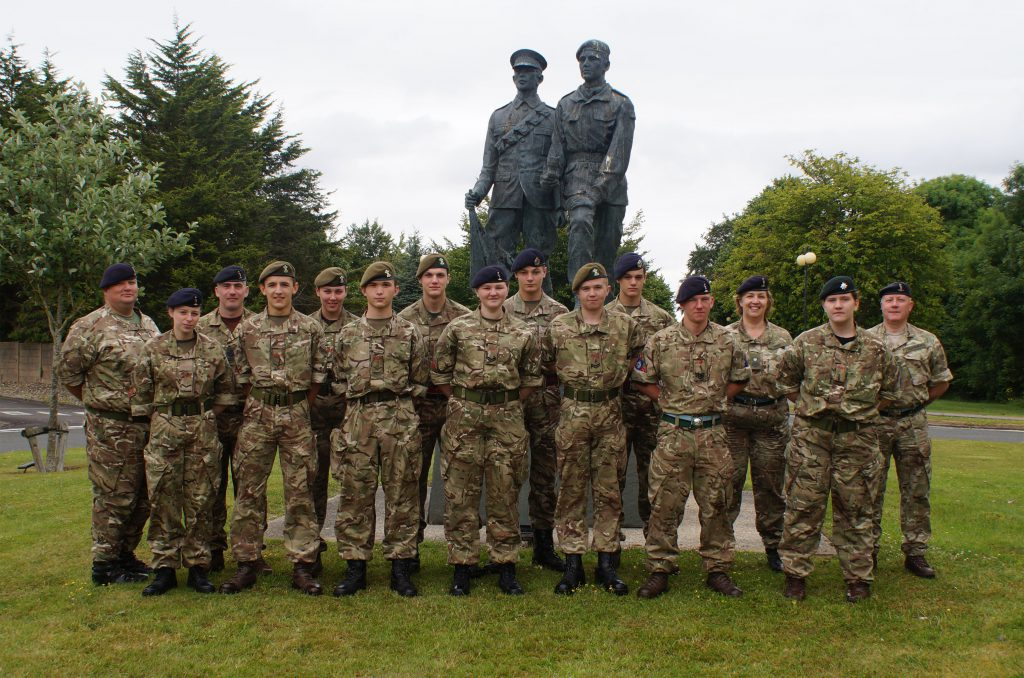 Cadet Signaller Course Photo - Jul 16