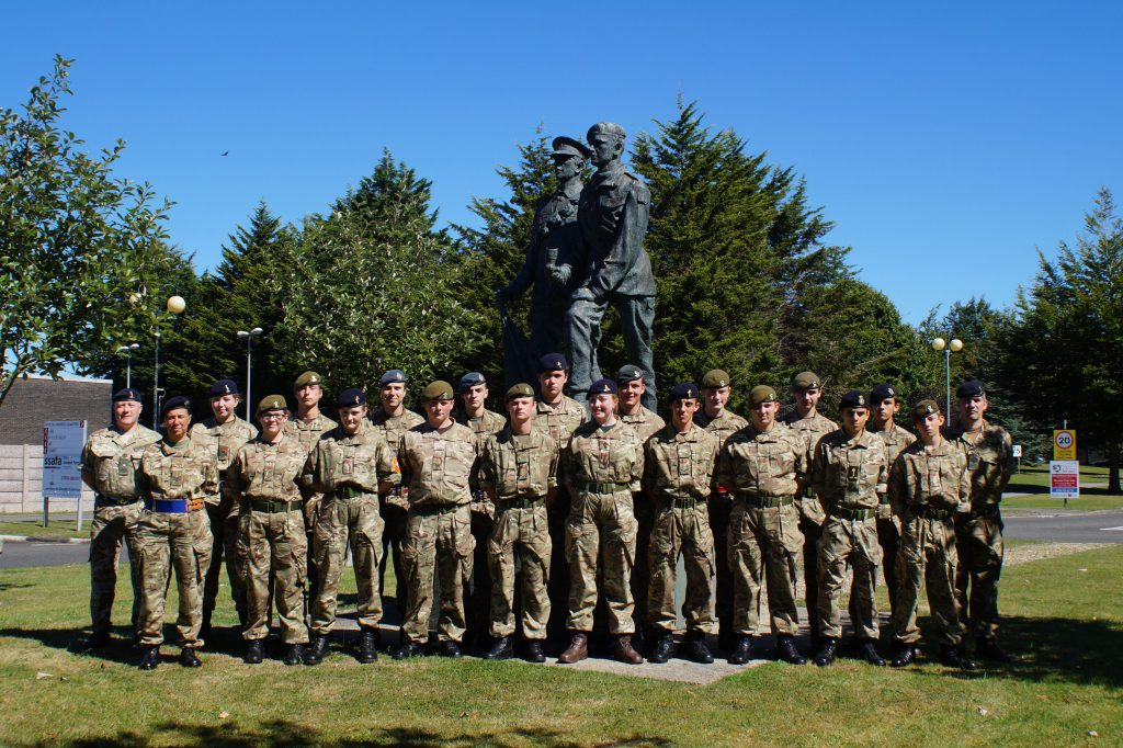 Cadet Signaller Course Photo - Aug 16